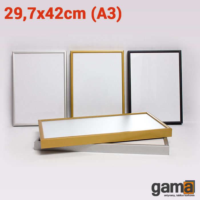 rama aluminiowa 29,7x42cm (A3)