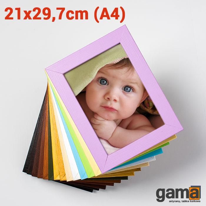 rama drewniana 21x29,7cm (A4)