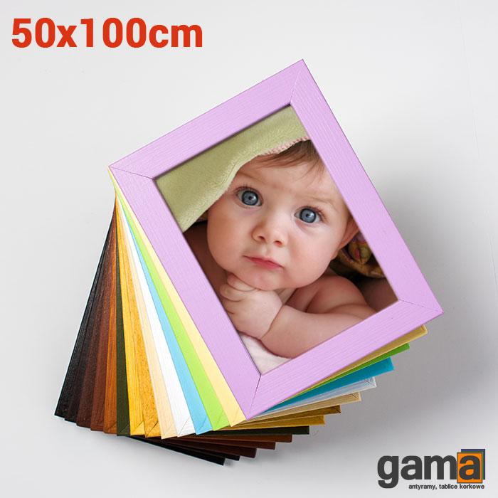 rama drewniana 50x100cm