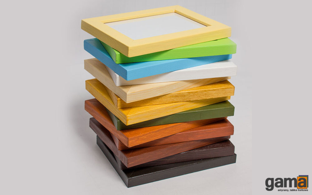 Ramka na zdjęcia drewniana plexi antyrefleks